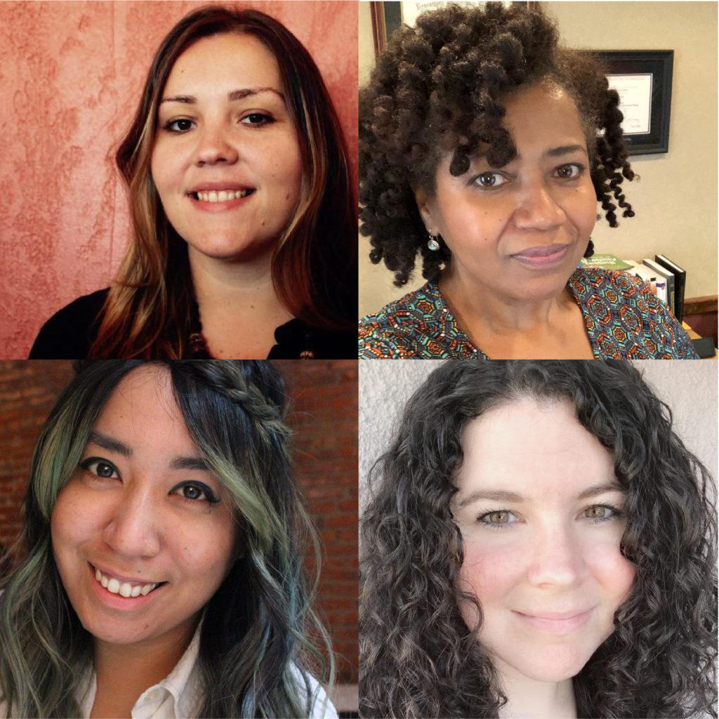 Laura Gonzalez, Dr. Joy Robinson, Clarissa San Diego, Dr. Ann Shivers-McNair