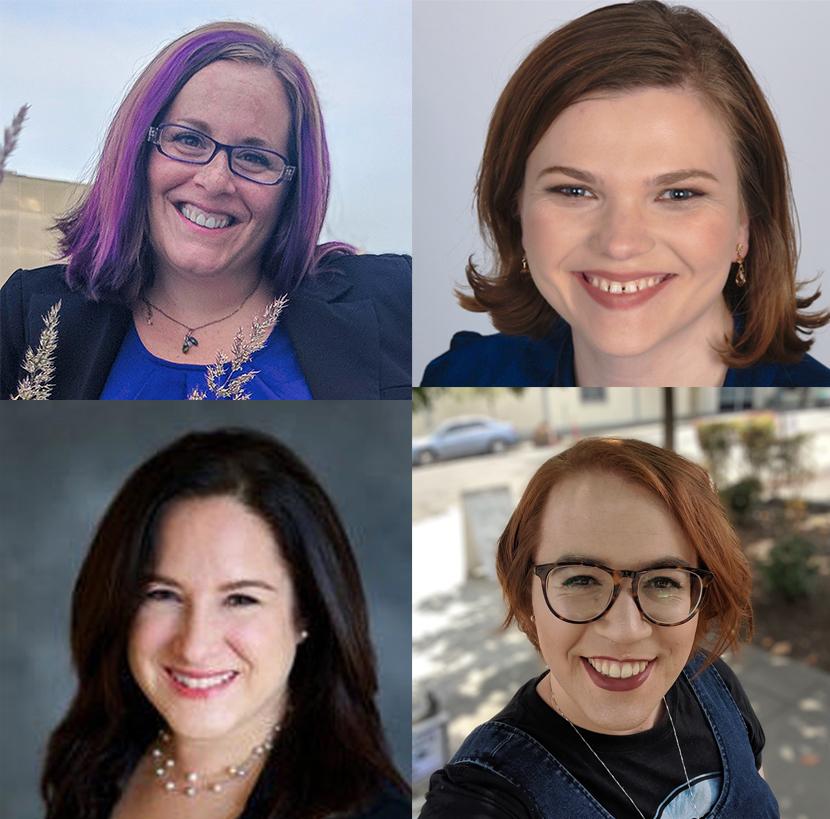 Heather Metcalf, Erin Kelley, Jennifer Clark, Aspen Russell